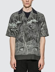 Sacai Sun Surf Edition Diamond Head Shirt Black