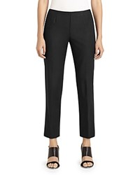 Lafayette 148 New York Cropped Bleeker Pants Black