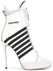 Dsquared2 Julie Boots White