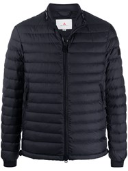 Peuterey Quilted Down Jacket Blue