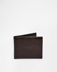 French Connection Leather Wallet Brown