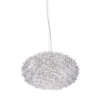 Kartell Crystal Bloom Ceiling Lamp Clear