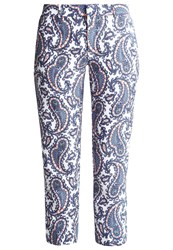 Banana Republic Avery Trousers Blue Multicoloured