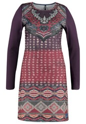 Smash Jennifer Jumper Dress Dark Purple