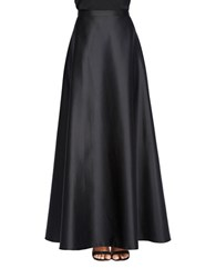 Alex Evenings Ruffled Circle Skirt Black