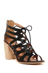 Rebels Yale Lace Up Sandal Black