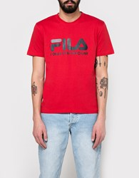 Gosha Rubchinskiy Fila T Shirt In Red