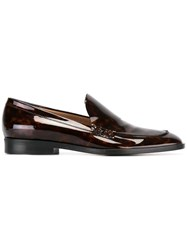 Paul Smith Marble Effect Loafers Brown