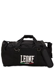 Leone 1947 70L Nylon Rip Stop Gym Duffle Bag Black