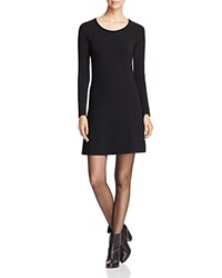Majestic Filatures French Terry Tee Dress Noir
