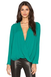 Bcbgeneration Crossover Top Green