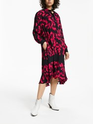 And Or Donatella Rara Floral Dress Pink Multi