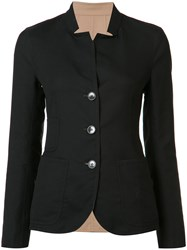 Akris Button Up Jacket Black