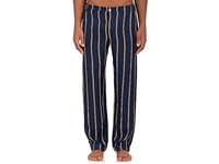 Sleepy Jones Men's Marcel Silk Pajama Pants Navy