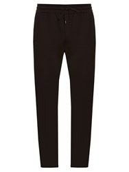 Dolce And Gabbana Logo Plaque Track Pants Navy