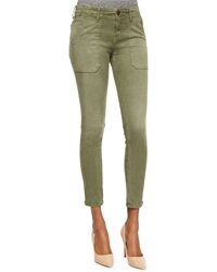 Current Elliott The Conductor Ankle Jeans Army Green