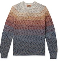 Missoni Space Dyed Linen Blend Sweater Multi