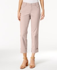Styleandco. Style Co. Cuffed French Birch Wash Jeans Only At Macy's Pink Bliss