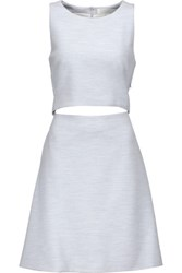 Thakoon Addition Cutout Cady Dress Sky Blue