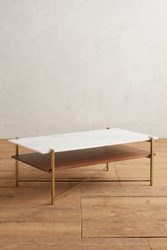 Anthropologie Elemental Layers Coffee Table Bronze