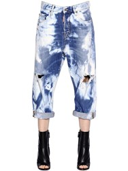 Dsquared Kawaii Cropped Cotton Denim Jeans