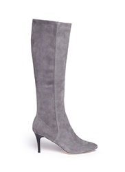 Cole Haan 'Barnard' Suede Knee High Boots Grey