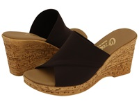 Onex Christina Chocolate Women's Wedge Shoes Brown