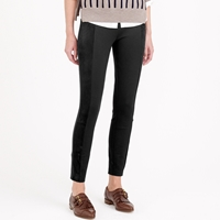 J.Crew Pixie Pant With Suede Panels