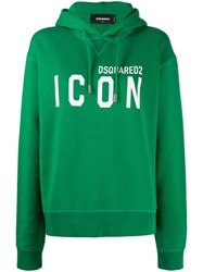 Dsquared2 Icon Print Hooded Sweatshirt 60