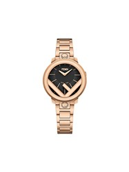 Fendi Run Away Watch Gold