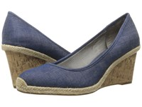 Lifestride Listed Light Denim Women's Sandals Blue
