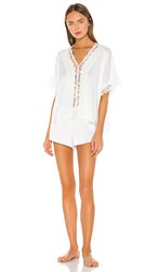 Flora Nikrooz Showstopper Charmeuse Pj Set In White. Ivory