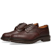 Tricker's Commando Sole Ilkley Brogue Brown