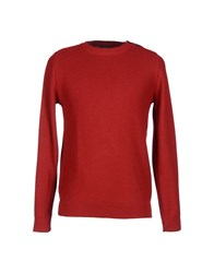 Le Mont St Michel Knitwear Jumpers Men Maroon