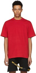 D By D Red I Dont Live Your Life Tape Loop T Shirt
