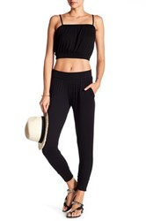 Clayton Frida Cuffed Ankle Pant Black