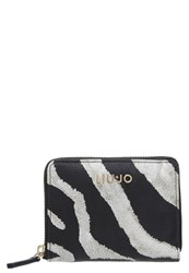 Liu Jo Anna Wallet Black White