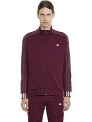 Adidas Originals By Alexander Wang Trefoil Jacquard Tricot Track Jacket