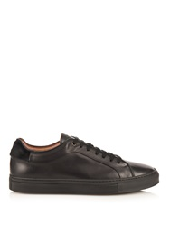 Paul Smith Leather And Calf Hair Low Top Leather Trainers
