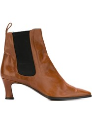 Christian Dior Vintage Ankle Boots Brown