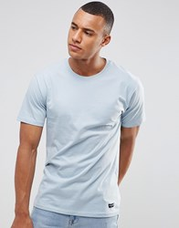 Only And Sons T Shirt In Skater Fit Blue
