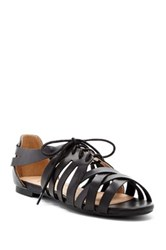 Restricted Mexico Sandal Black