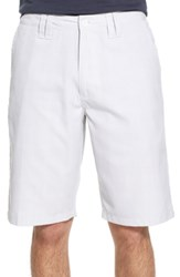 O'neill Big And Tall 'Delta Plaid' Chino Shorts White