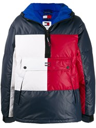 Tommy Jeans Popover Colour Block Puffer Jacket 60