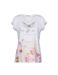 Yes Zee By Essenza T Shirts White