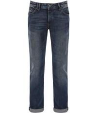 Bench Snare V20 Medium Wash Mid Rise Jeans Blue