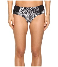 Lole Dauphinee Bottom Black Monarch Women's Swimwear Gray