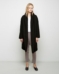 Lauren Manoogian Capote Alpaca Coat Black