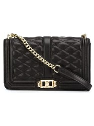 Rebecca Minkoff Quilted Cross Body Bag Black