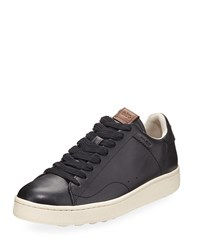 Coach C101 Leather Low Top Sneakers Black